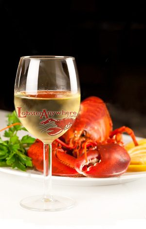 wine lobster