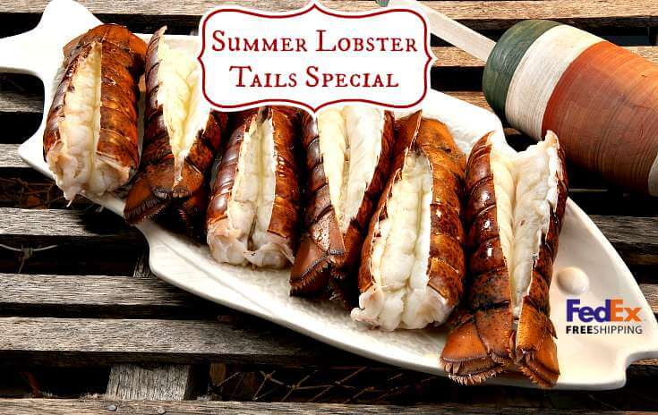 Lobster Tails Summer Special Online